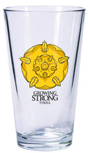 Image: Game of Thrones Pint Glass: Tyrell  - Dark Horse Comics
