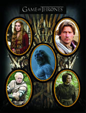 Image: Game of Thrones Character Magnet Set 2  - Dark Horse Comics