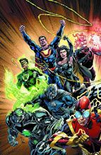 Image: Justice League #24 (Evil) - DC Comics