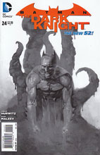 Image: Batman: The Dark Knight #24 (variant B&W cover) - DC Comics