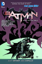 Image: Batman: Night of the Owls SC   - DC Comics
