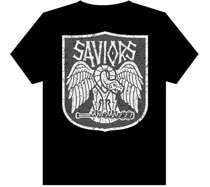 Image: Walking Dead All-Out War: Saviors Womens T-Shirt  (L) - Image Comics