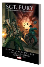 Image: Marvel Masterworks: Sgt Fury and His Howling Commandos Vol. 01 SC  - Marvel Comics