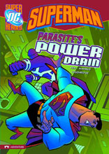 Image: DC Super Heroes: Superman Young Readers - Parasite's Power Drain SC  - Capstone Press