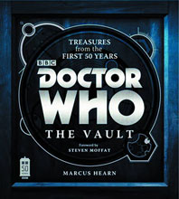 Image: Doctor Who: The Vault - Treasures from the First Fifty Years HC  - Harper Collins Publishers