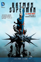 Image: Batman / Superman Vol. 01: Cross World SC  (N52) - DC Comics