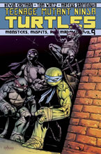 Image: Teenage Mutant Ninja Turtles Vol. 09: Monsters, Misfits, & Madmen SC  - IDW Publishing