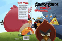 Image: Angry Bird Comics Vol. 01: Welcome to the Flock HC  - IDW Publishing