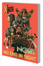 Image: Uncanny X-Men / Iron Man / Nova: No End in Sight SC  - Marvel Comics