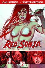 Image: Red Sonja Vol. 02: The Art of Blood and Fire SC  - Dynamite