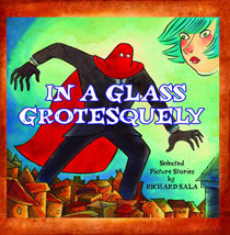 Image: In a Glass Grotesquely SC  - Fantagraphics Books