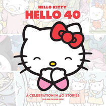Image: Hello Kitty, Hello 40: A Celebration in 40 Stories  (Plus One for Good Luck) HC - Perfect Square