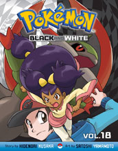 Image: Pokemon Black & White Vol. 18 SC  - Perfect Square