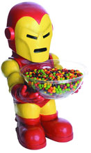 Image: Marvel Heroes Candy Bowl Holder: Iron Man  -