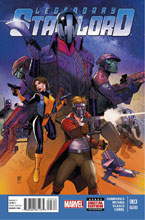 Image: Legendary Star-Lord #3 (variant 2nd printing cover - Paco Medina) - Marvel Comics