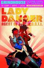 Image: Grindhouse: Doors Open at Midnight Double-Feature: Lady Danger / Nebulina SC  - Dark Horse Comics