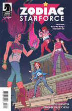Image: Zodiac Starforce #3 - Dark Horse Comics