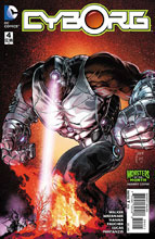 Image: Cyborg #4 (variant DCU Monsters cover - Mikel Janin) - DC Comics