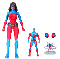 Image: DC Comics Icons Action Figure 012: Atomica  - DC Comics