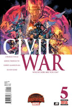 Image: Civil War #5 - Marvel Comics