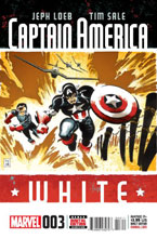 Image: Captain America: White #3 - Marvel Comics