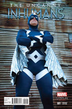 Image: Uncanny Inhumans #1 (Cosplay variant cover - 00161) - Marvel Comics