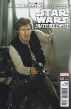 Image: Journey to Star Wars: The Force Awakens - Shattered Empire #3 (Movie photo variant cover - 00331) - Marvel Comics