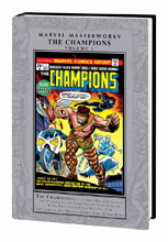 Image: Marvel Masterworks: The Champions Vol. 01 HC  - Marvel Comics