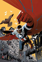 Image: Captain America: Sam Wilson #1 by Acuna Poster  - Marvel Comics