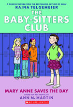 Image: Baby-Sitters Club Vol. 03: Mary Anne Saves the Day SC  (color edition) - Graphix
