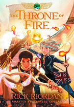 Image: Kane Chronicles Book 02: Throne of Fire GN  - Hyperion Books