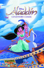 Image: Disney's Aladdin Cinestory  - Joe Books Inc.