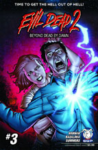 Image: Evil Dead 2: Beyond Dead by Dawn #3 - Space Goat Productions