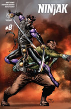 Image: Ninjak #8 (cover A - Suayan) - Valiant Entertainment LLC