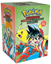 Image: Pokemon Adventure: FireRed & LeafGreen / Emerald Box Set SC  - Viz Media LLC