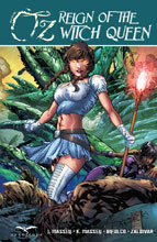 Image: Grimm Fairy Tales Presents Oz: Reign of the Witch Queen HC  - Zenescope Entertainment Inc