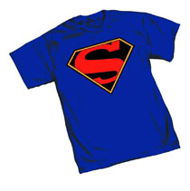 Image: Superman T-Shirt: Truth Symbol  (S) -