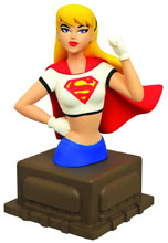 Image: Superman Animated Series Bust: Supergirl  -