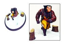 Image: Marvel Premiere Collector Statue: Wolverine in Snow  -