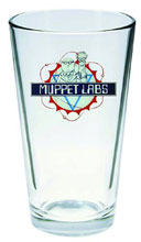 Image: Muppet Show Pint Glass: Muppet Labs  -