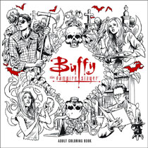 Image Buffy The Vampire Slayer Adult Coloring Book SC