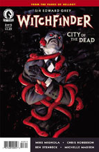 Image: Witchfinder: City of the Dead #3 - Dark Horse Comics