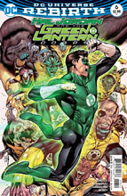 Image: Hal Jordan & the Green Lantern Corps #6 - DC Comics