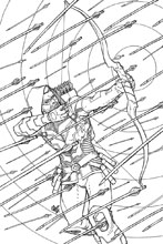 Image: Green Arrow: An Adult Coloring Book SC  - DC Comics