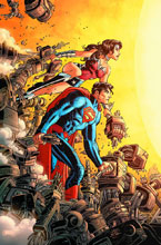 Image: Superman / Wonder Woman Vol. 05: Savage End HC  - DC Comics