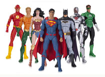 Image: DC Rebirth Justice League Action Figure 7-Pack  - DC Comics
