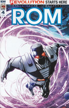 Image: Rom #4 (incentive cover - Pop Mhan) (10-copy) - IDW Publishing