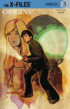 Image: X-Files: Origins #3 (subscription cover - Cat Staggs) - IDW Publishing