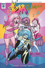 Image: Jem and the Holograms #20 (incentive cover - Gisele Legace) (10-copy) - IDW Publishing