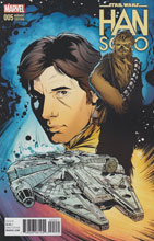 Image: Han Solo #5 (Joelle Jones variant cover - 00551) - Marvel Comics